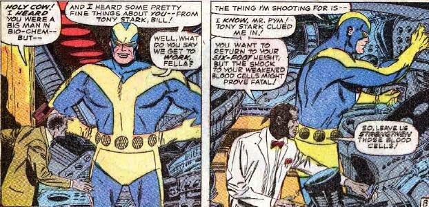 Bill Foster, Laurence Fishburne en Ant-Man y la Avispa, en los cómics