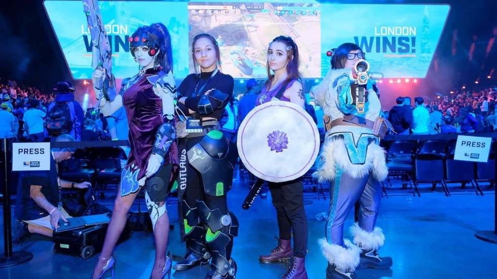 Cosplay Overwatch League - esports