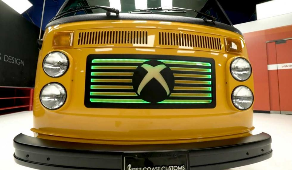 Furgo de Xbox y PUBG - esports