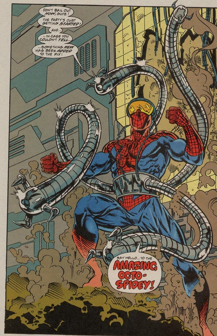 Poderes que Spider-man solamente tuvo durante un tiempo