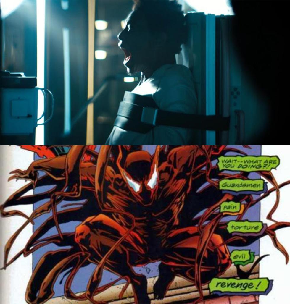 Película de Venom - Los simbiontes que podríamos ver