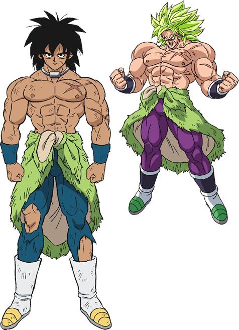 Los personajes de Dragon Ball Super Broly