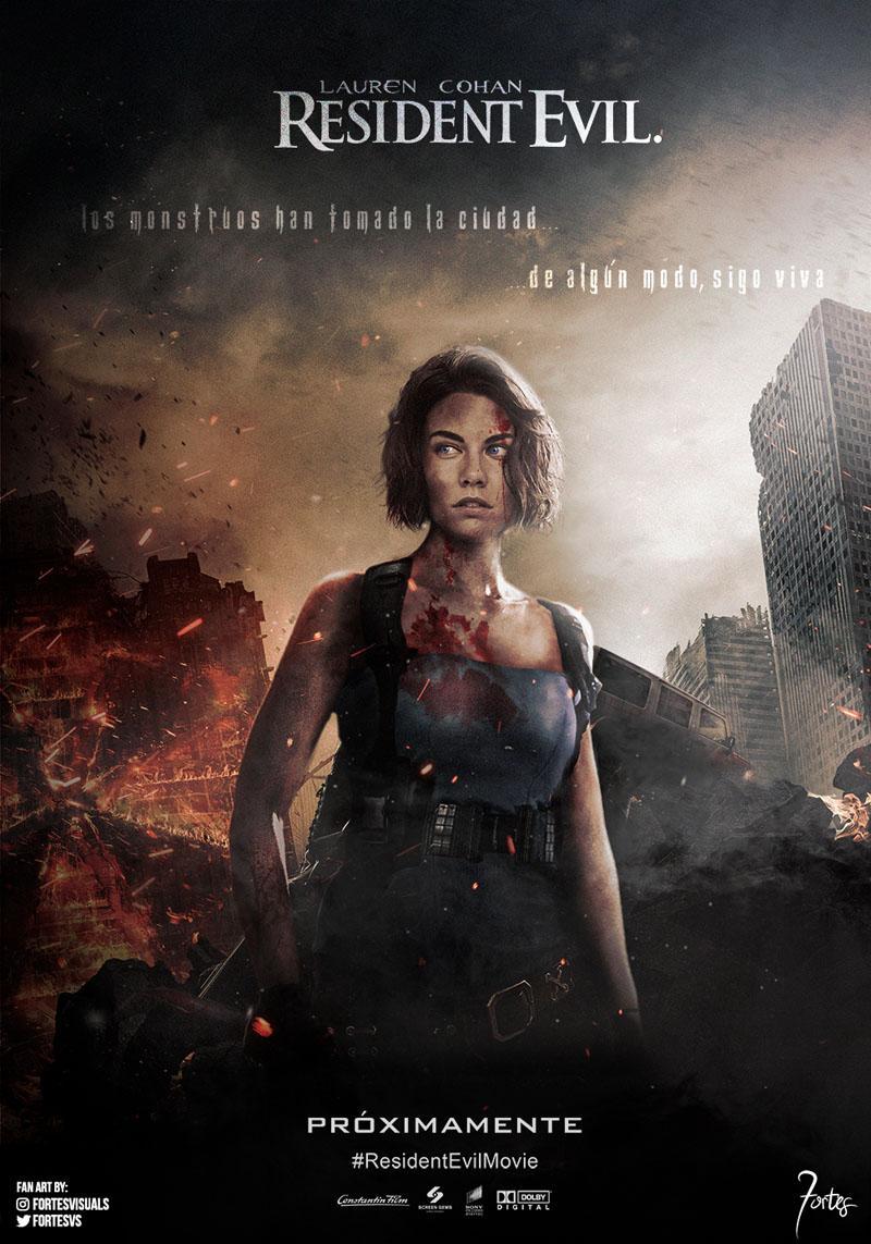 Lauren Cohan en Resident Evil