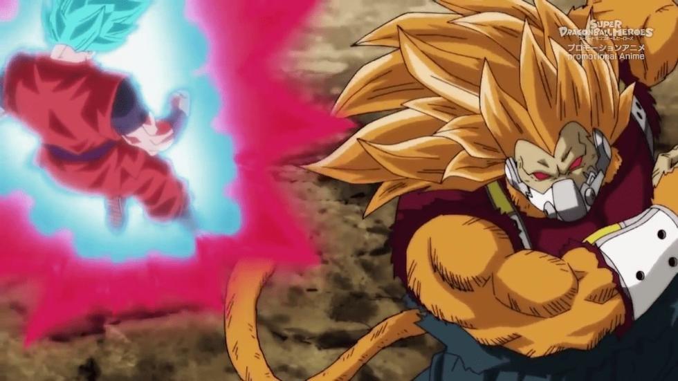 Super Dragon Ball Heroes capítulo 4