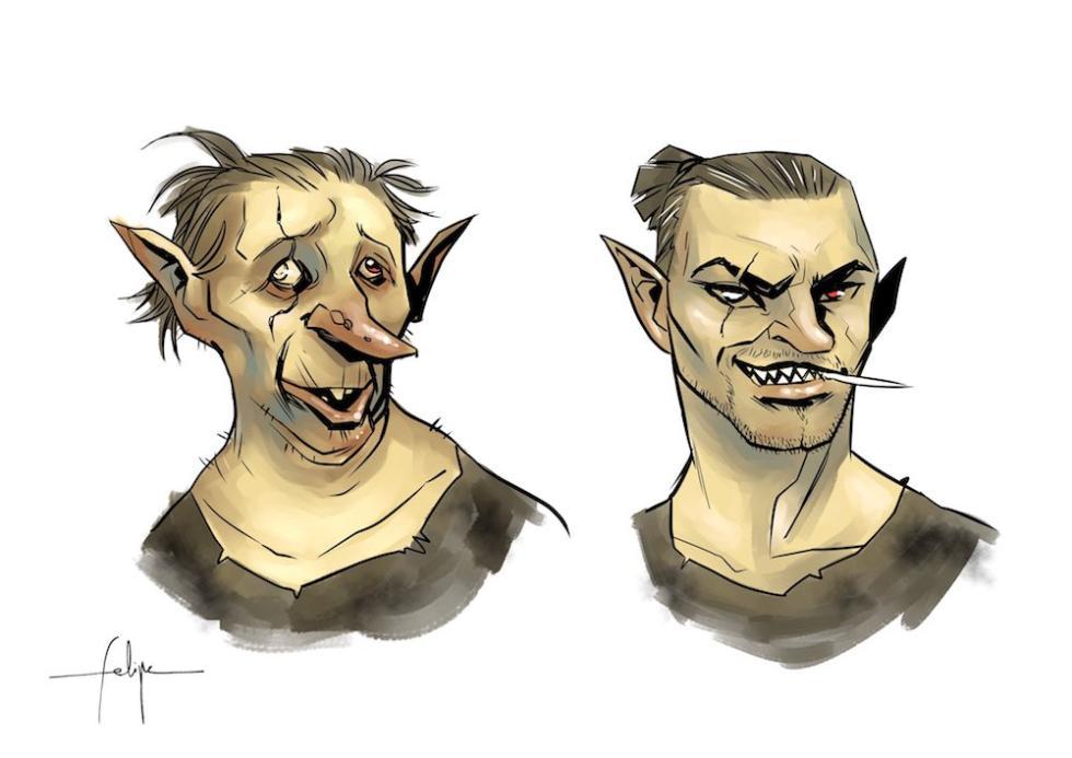 El antes y el después de uno de los personajes de la primera temporada