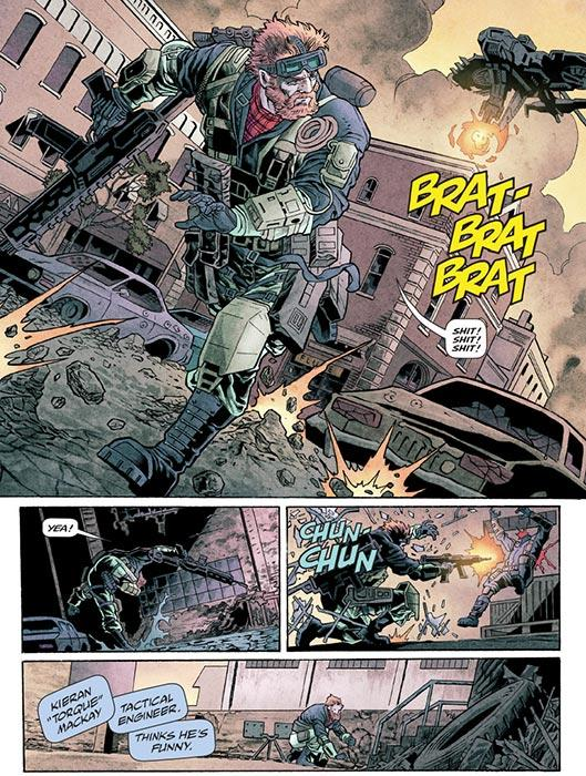 los cómics deCall of Duty: Black Ops IIII