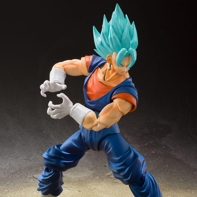 SS GOD SS VEGETTO BLUE EECE FIGURA 16 CM DRAGON BALL