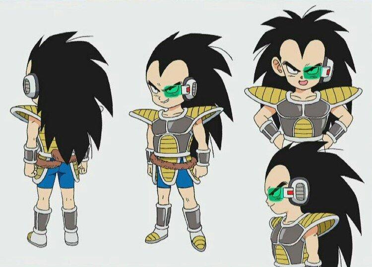 Dragon Ball Super Broly nuevos diseños