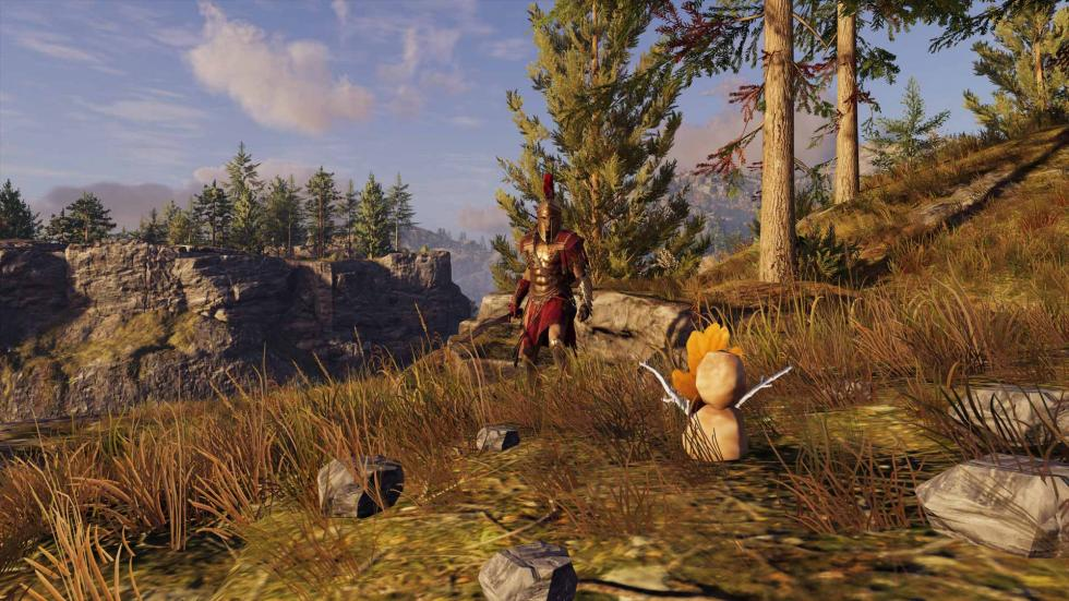 Easter Egg de Breath of the Wild en Assassin's Creed Odyssey