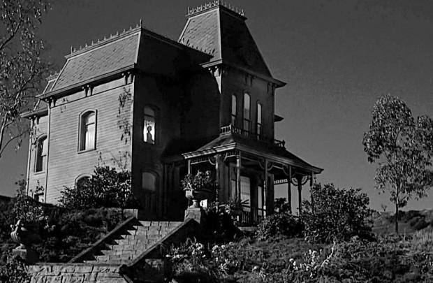 El hogar de Norman Bates de Psicosis