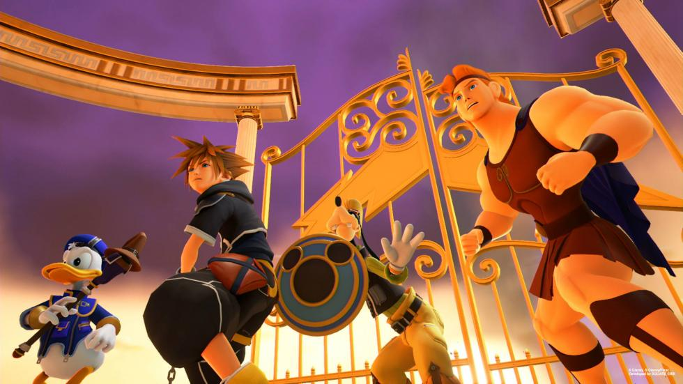 Kingdom Hearts 3 Coliseo del Olimpo