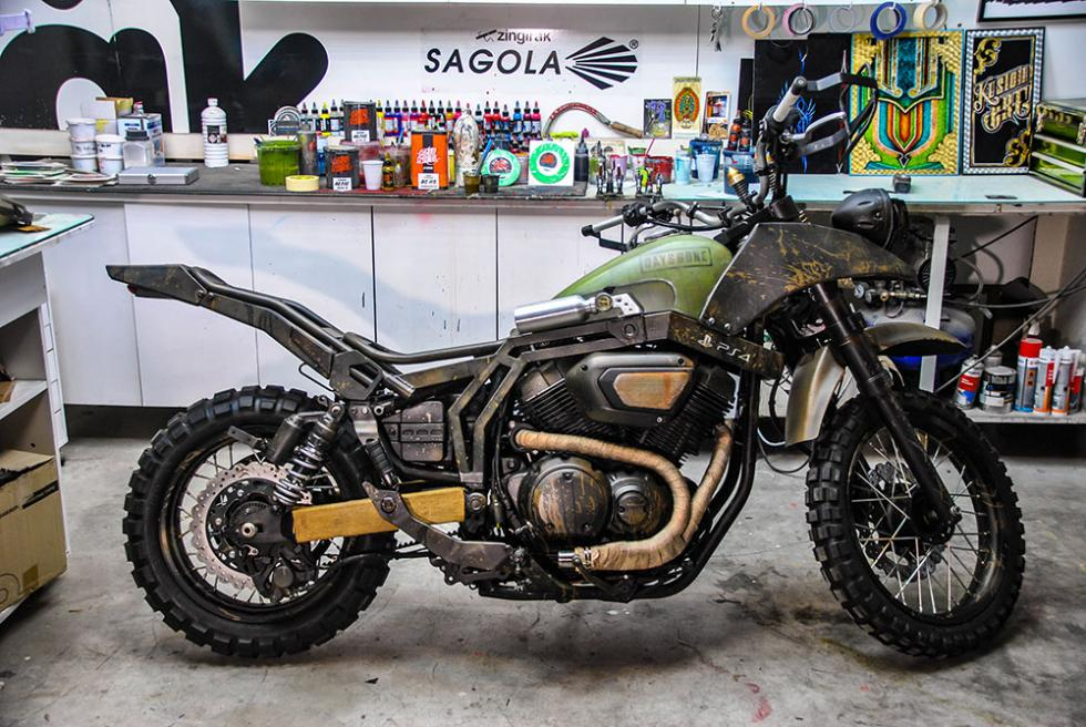 La moto real de Days Gone