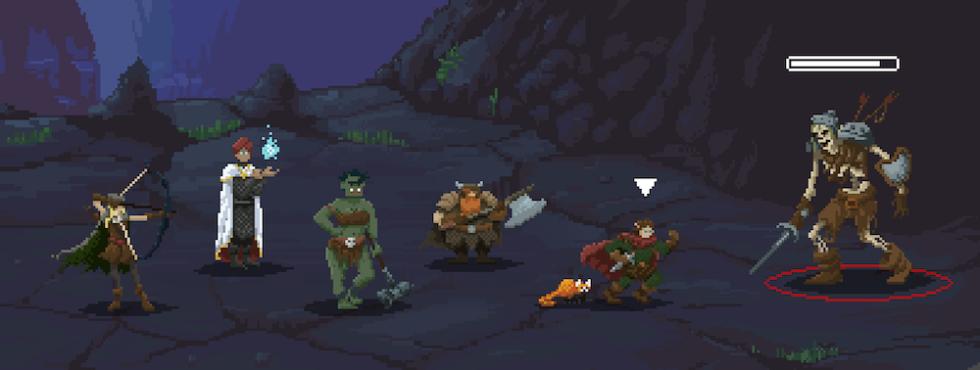 Los personajes de Rolazo en Pixel Art