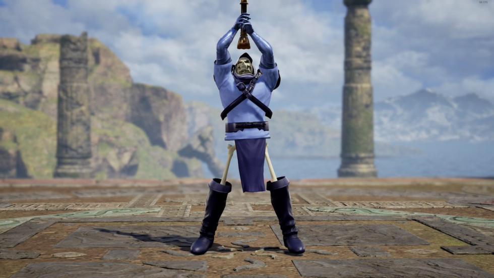 Skeletor en Soul Calibur VI