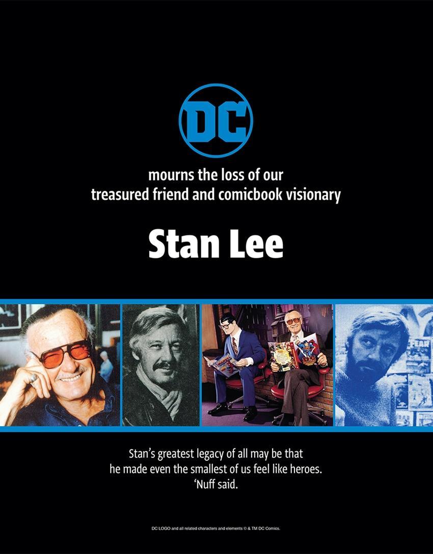 Despedida Stan Lee - DC