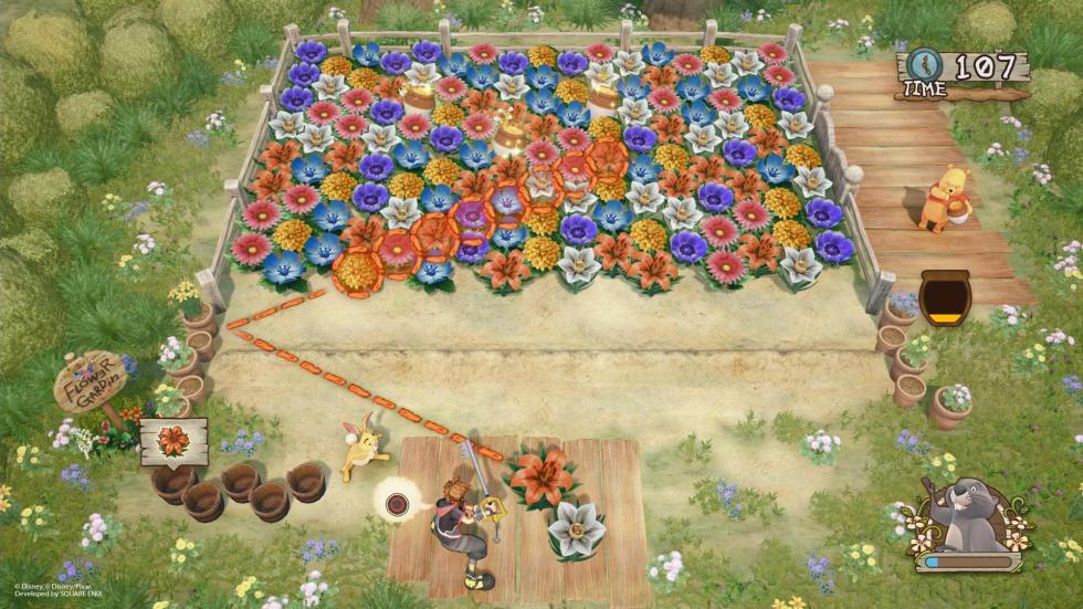 Kingdom Hearts 3 - Bosque de los 100 Acres