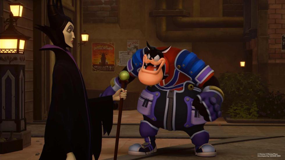 Kingdom Hearts 3 - Maléfica y Pete