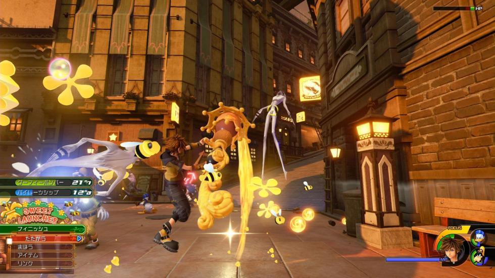 Kingdom Hearts 3 - Transformaciones
