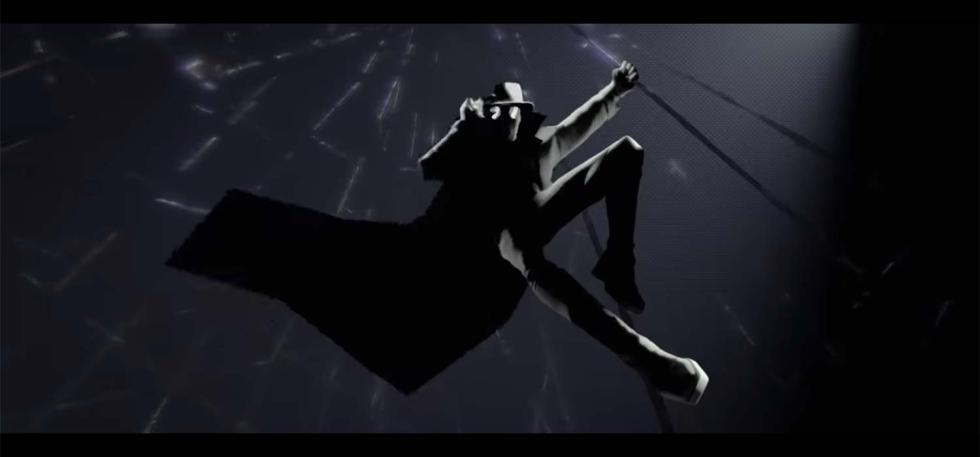 Peter Parker - Spider-man Noir en Spider-man: Un nuevo universo