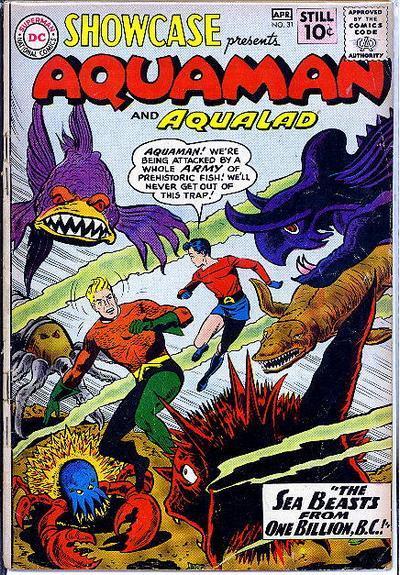 75 años de Aquaman