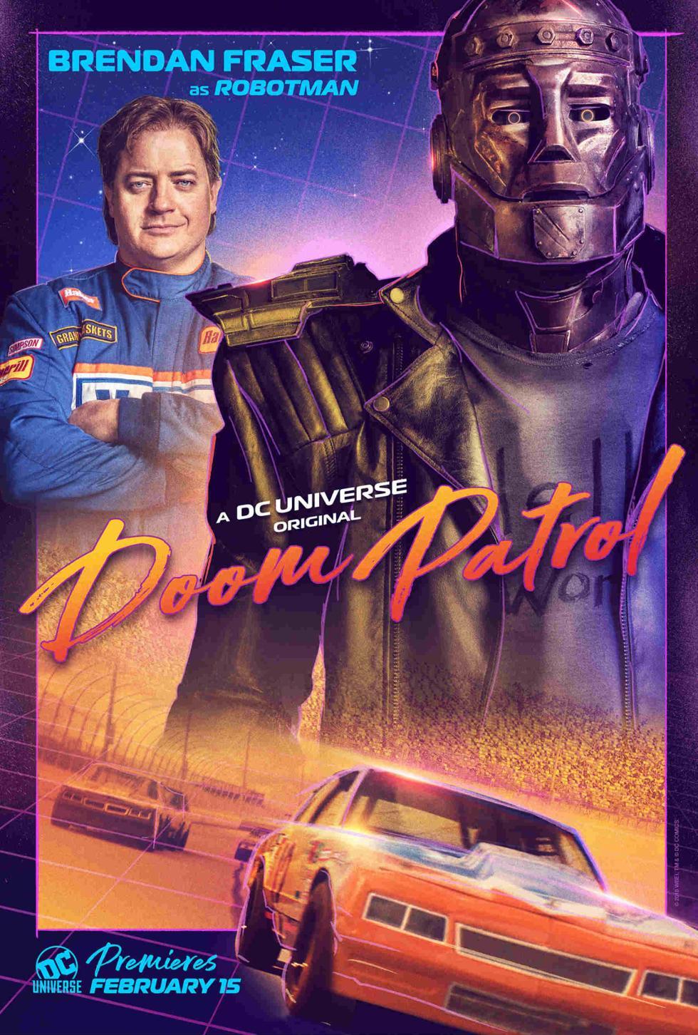 Robotman en Doom Patrol DC Universe