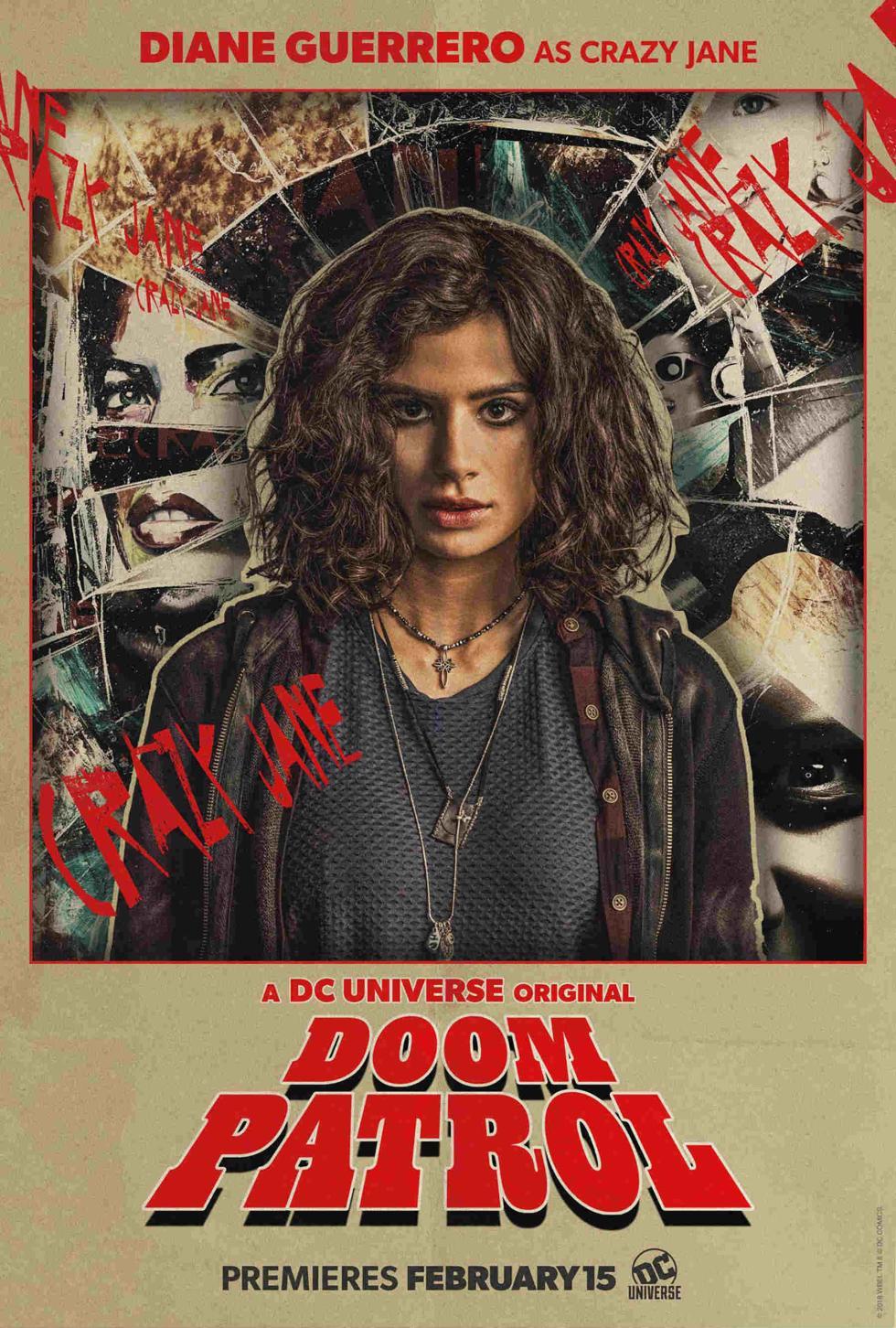 Crazy Jane en Doom Patrol DC Universe