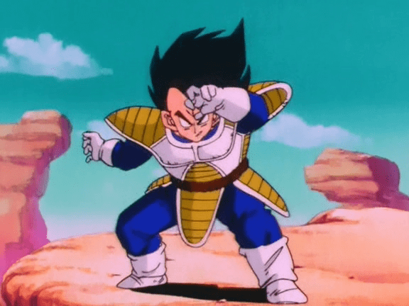 Dragon Ball Z capítulo 30 Goku contra Vegeta