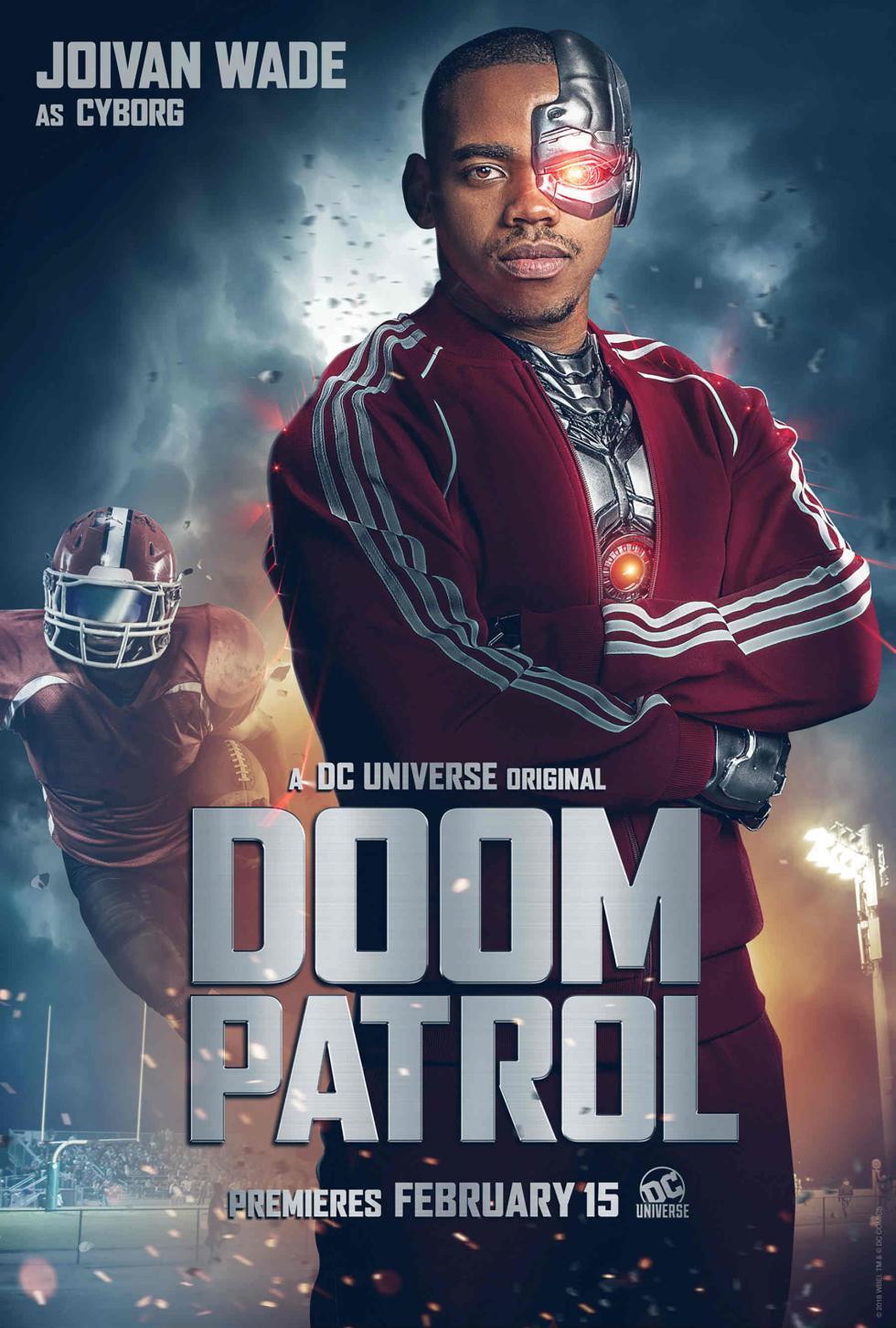 Cyborg en Doom Patrol DC Universe
