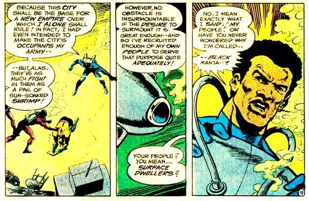 Manta Negra (Black Manta), el villano de Aquaman
