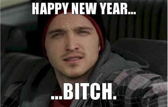 Meme Año Nuevo Breaking Bad