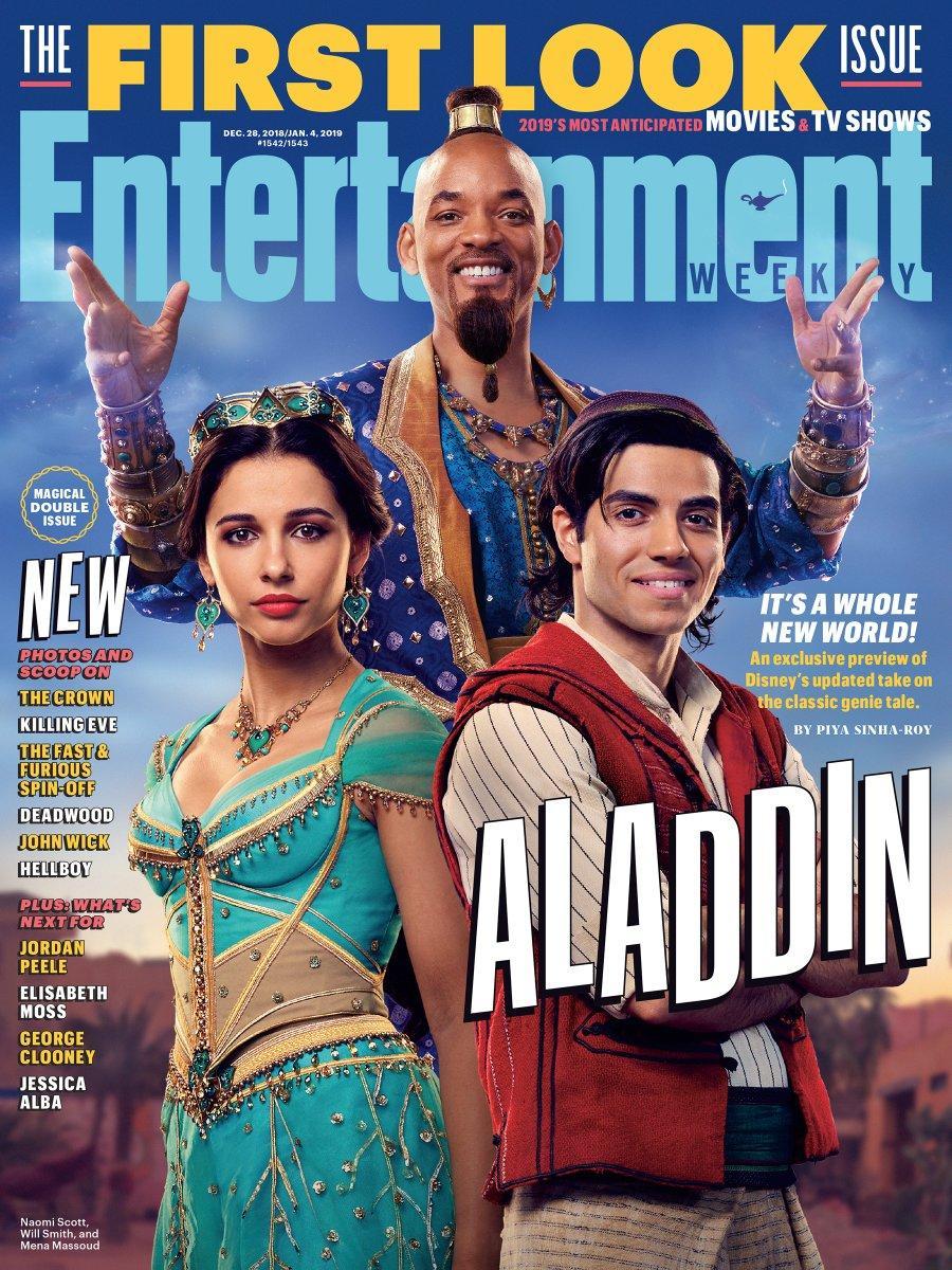 Primeras imágenes Aladdin 2019