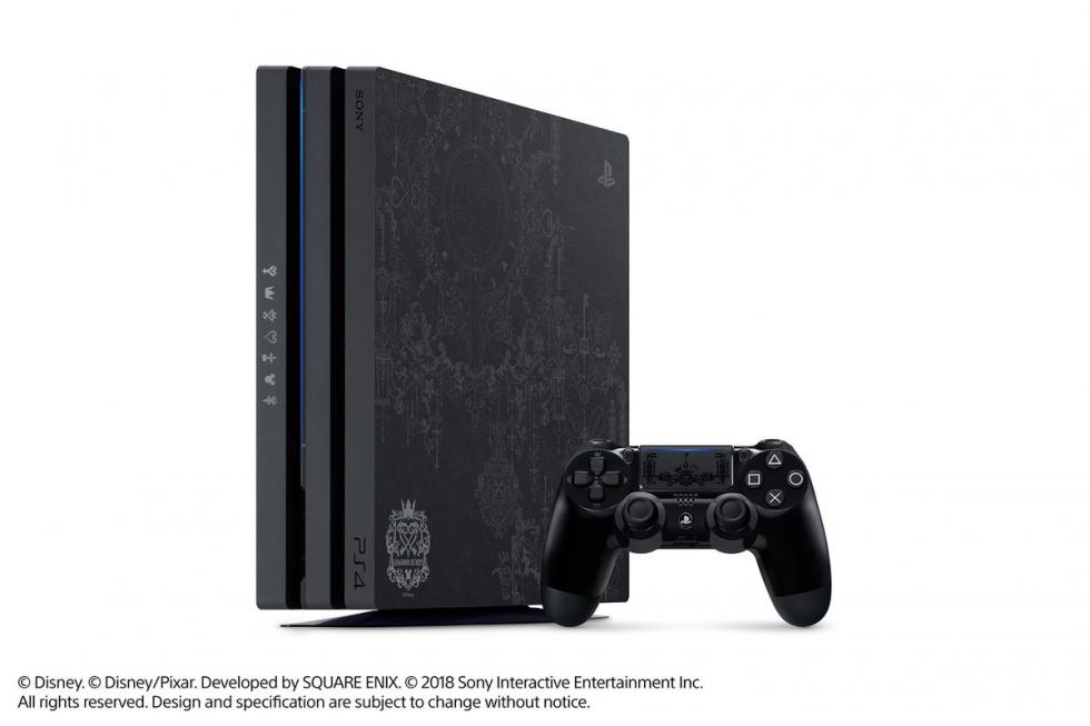 PS4 Pro Special Edition Kingdom of the Hearts 3