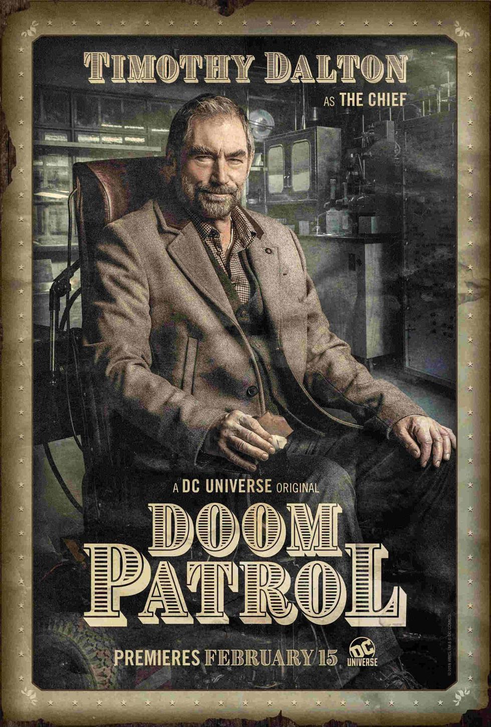 The Chief en Doom Patrol DC Universe