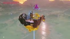 Guardián volador en Zelda Breath of the Wild