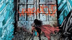 Dibujo de Wonder Woman: Tierra Muerta (DC Comics)