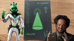 Fortnite carta aliens
