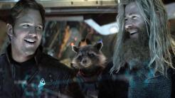 Star Lord y Thor en Vengadores: Infinity War (2018)