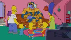 Thanos en Los Simpson
