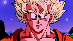 Dragon Ball Z - Son Goku Super Saiyan sorprendido