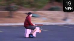 Minecraft - Cerdo funcional a 32 km/h