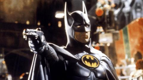 Michael Keaton en la película Batman