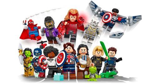 Colección minifiguras LEGO series Marvel Studios