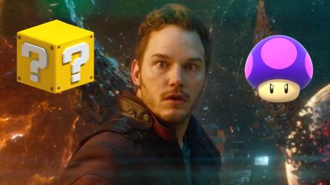 Chris Pratt Super Mario