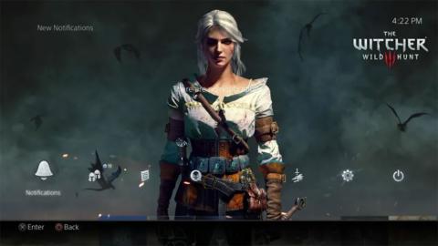 Tema The Witcher 3 para PS4