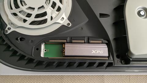 Análisis XPG GAMMIX S70 PS5