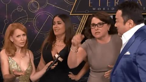 """""""Que aprendan todos español"""", así de tajante ha sido Victoria Alonso, vicepresidenta de Marvel Studios, en la premiere de Eternals"""