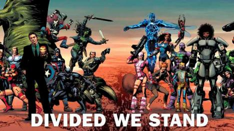 Divided We Stand cómic Marvel