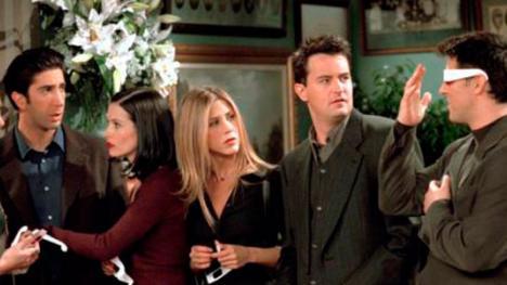 Friends escena inédita con Joey