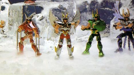 Saint Seiya - juguetes de los 90
