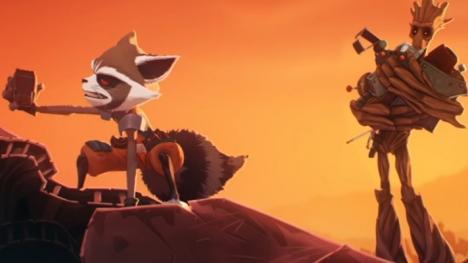 Rocket y Groot webserie
